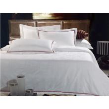 Folha de cama quente do hotel da venda algodão 100%