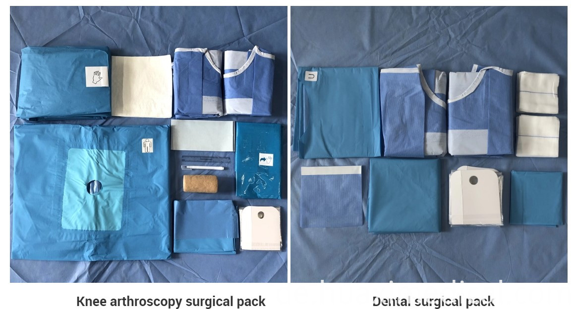 sterile Surgical pack