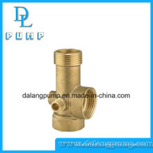 Female Threaded Brass Five Way Connector for Water Pumps