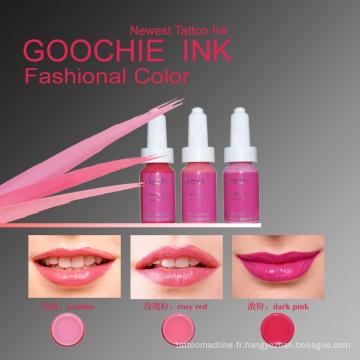 Encre permanente liquide de tatouage de colorant de maquillage