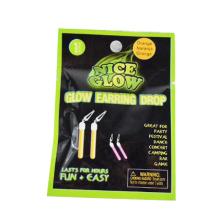 Glow Stick Star Key Earring Drop
