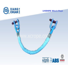 UHMWPE Sk-75 Seil mit Schäkel