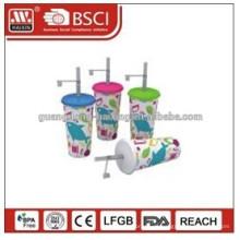 Drucken für Etiketten von Plastikbechern / billige Einweg Kaffeetassen / billige Einweg Plastik Joghurtbecher