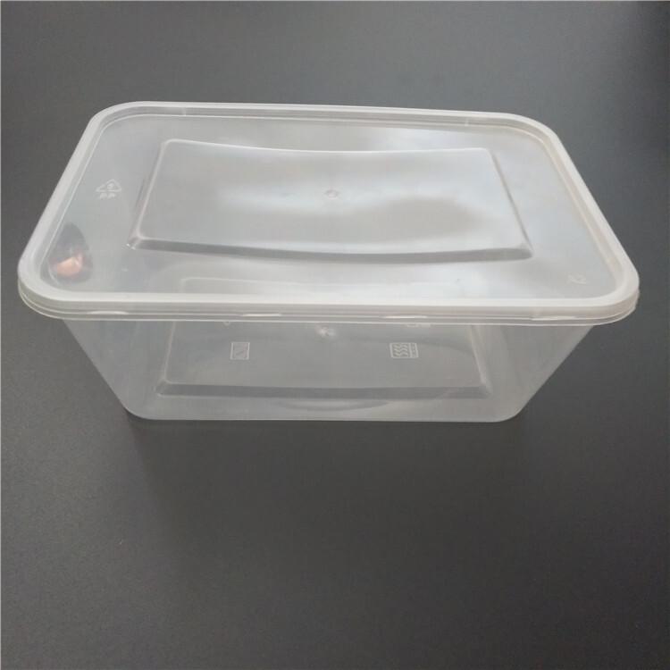 takeaway plastic food box