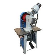 Machine à oeillet automatique à tête unique robuste
