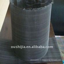 Grille métallique en vinyle noir de haute qualité (directement de l'usine)