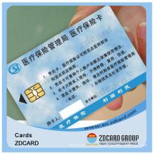Hohe Qualität ISO Standard PVC Magnetstreifen Smart ID Karte
