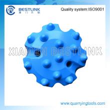 Bits de botão médios da série DTH da pressão de ar de Br para perfurar