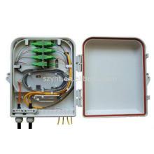 Réseau mural 12/24/36/48 cœurs fibre optique distribution box, ftth terminal box