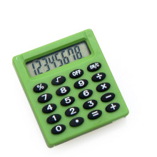Mini Size 8 Digits Electronic Calculator for Kids