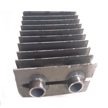 Double H Type Finned Heat Exchanger Tubes Condensing Exchanger