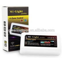 2.4G 4-ZONE RGB levou controlador de luz de tira, Mi luz RGB controle receptor