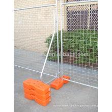 El mejor precio de la cerca temporal galvanizado / con recubrimiento en polvo (fábrica)