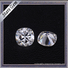 High Quality D/F White Color Vvs Clarity Synthetic Moissanite Diamond for Jewelry Making