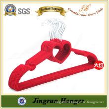 Crochet de velours Red Flocked Hanger