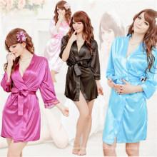 OEM женщины сексуальная кимоно белье халат (53021)