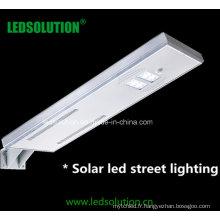 Lumières extérieures solaires intégrées de 50W LED pour la voie, éclairage de jardin