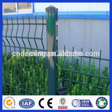 Triangle bend hot dipped galvanized pvc coated models fences