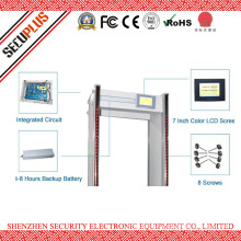 45 Zones Waterproof Walk through Metal Detector Security Door For Military