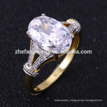 New gold designs for girls aaaaa cubic zirconia rings