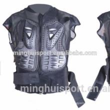 Cavaleiro armadura de esqui engrenagem da motocicleta esportes bodyarmor motocross corpo armadura jaqueta espinha no peito proteção engrenagem frente