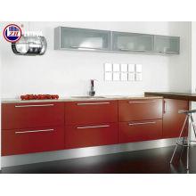 Armarios de madera de la cocina con la venda de borde (modificada para requisitos particulares)