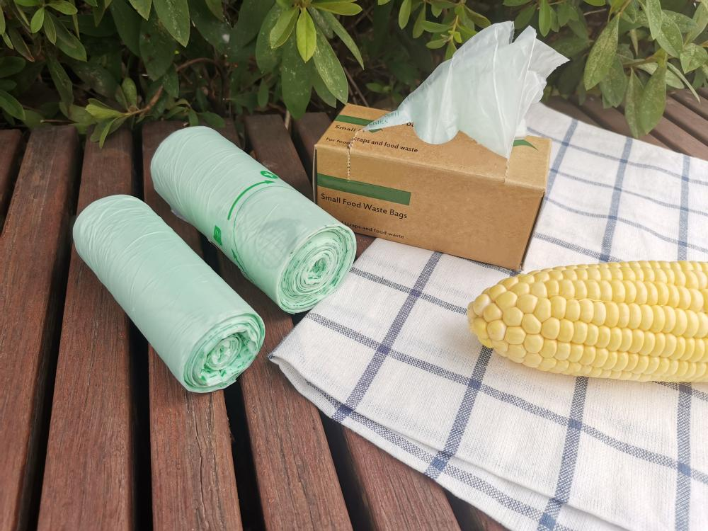 Biodegradable Nature Plastic Rubbish Bags