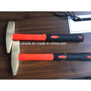 Brass Chipping Hammer 1lb, Safety Brass Scaling Hammer