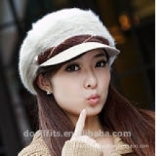 Berret cap with 100% wool girl cap made in china