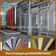 Ligne de pressage stratifié haute pression / machine de pressage de panneaux HPL