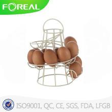 Quente novo produto para 2015 Metal fio titular de ovo