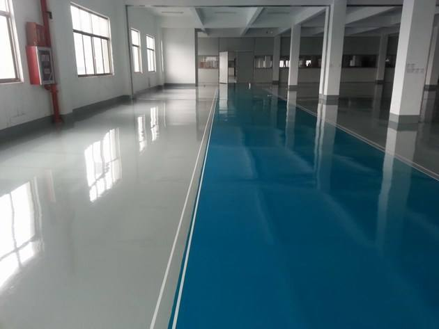 Factory High Strength Epoxy Self Flowing Flat Paint