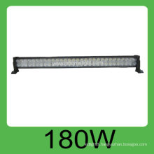 Hot sale CE and ROHS certification 180W IP68 DC10v-30V auto off road led light bar,3years warranty