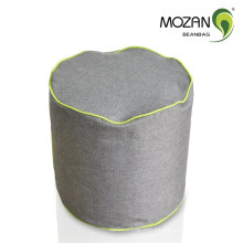 Sofá duradero tejido de cilindro de frijol bolsa de otomana