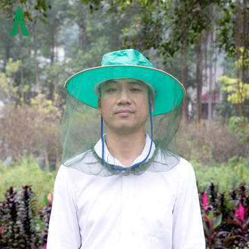 Neues Camping Green Anti Mosquito Head Net