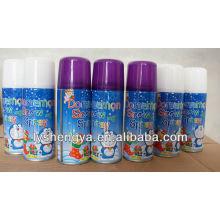 spray de neve em aerossol