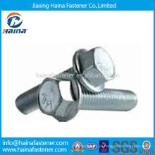 Parafuso serrilhado da flange do hexágono DINI692 / ISO4162 Gr8.8 Feito em China