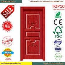 Звукоизолированные Лучшая цена деревянные двери из ПВХ