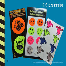 Reflective Hallowmas Stickers for Safety