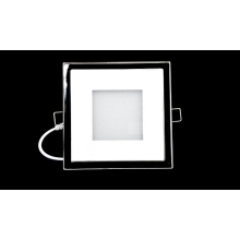 Plaza de aluminio LED luz PMMA de Panel 15w