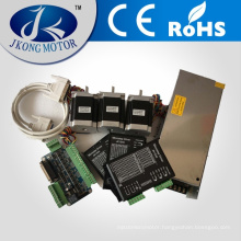 Perfect Match Stepper Motor Kits/Stepping Motor Kits including Stepper Motor, Driver, Power Supply and Key Board