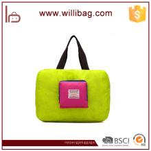 Nuevos productos Material de nylon Bolso tipo petate Bolsa de viaje plegable