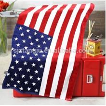 Высокая абсорбциа печатных флаг пляжное полотенце