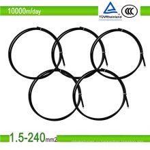 Солнечный кабель 4/6/10мм2 с курткой PVC проводника меди кабеля