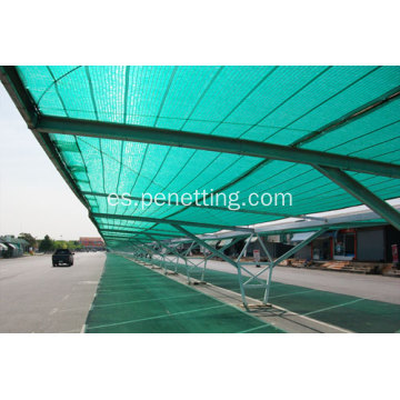 hdpe 170gsm 85% verde agricultura sol sombra red