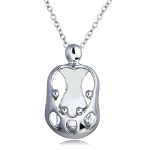 Streling Silver Pendant necklace Fashion Long Chain Jewelry Necklace