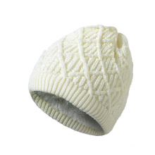 Womens Mens Unisex Autumn Winter Warm Knitted Twisted Cable Caps Beanie Braided Hat (HW134)