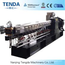 Recycled Plastic Granulation Twin Screw Extruder Machine
