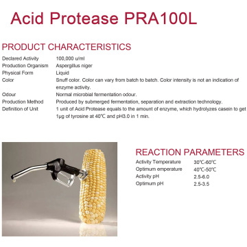 Acid Protease voor alcohol