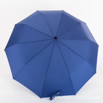 Luxury Wind Proof Man Folding Umbrella One Touch